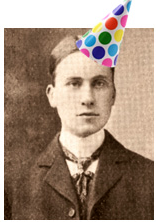 George Parmly Day and Party Hat from Yale Press