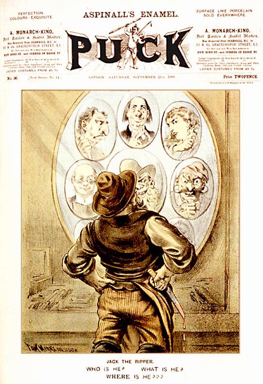 Jack the Ripper Puck Magazine