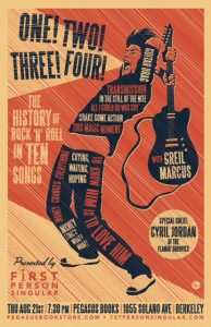 History of Rock 'n' Roll Playlist Contest poster