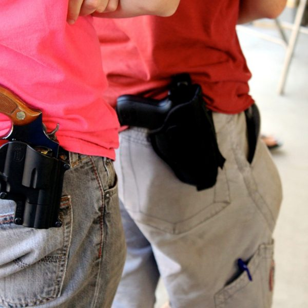 guns in schools Watch video betsy devos, donald trump's nominee for education secretary, said guns might have a place in schools because of the threat from potential grizzlies.