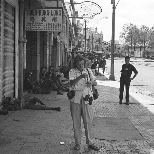 Clare Hollingworth in Saigon